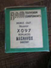 Nos Ram Television Transformer Horiz.Out. X097 Replaces Magnavox 360561 Mib