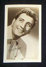 Tony Bennett 1940's 1950's Actor's Penny Arcade Photo Card
