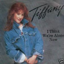 JUKEBOX SINGLE 45 TIFFANY - I THINK WE'RE ALONE NOW 7 ""