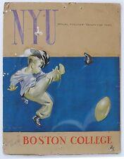 NYU vs Boston College, Original Art by Grant Powers, Chalk on board