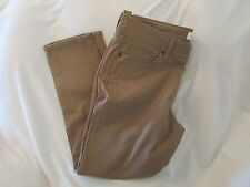 """Ladies """"Sonoma"""" Size 14PS, Coffee Delight (Tan), Mid Rise, Skinny, Jeans"""