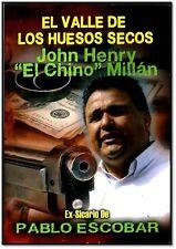 """EL VALLE DE LOS HUESOS SECOS(JOHN HENRY""""EL CHINO"""" MILLAN)NEW DVD fast shipping!"""