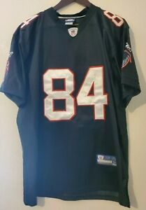 Reebok Premier NFL Atlanta Falcons Roddy White Black Jersey 50 x 33