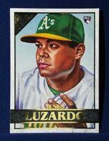 2020 Topps Gallery Jesus Luzardo RC Rookie #33 Oakland Athletics