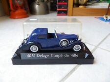 Delage Coupé de Ville 4051 bleue Solido 1/43 Miniature