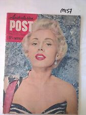 AUSTRALASIAN POST,1957 MAY 23, ZSA ZSA GABOR Cover