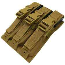 Condor MA37 COYOTE BROWN Tactical MOLLE MP5/.22/9mm Magazine Clip Holster Pouch