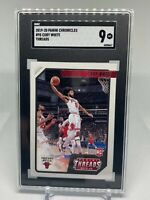 2019 Panini Chronicles THREADS Coby White #95 - Chicago Bulls - SGC 9 MT