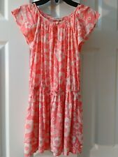 Juicy Couture Tunic Dress Coral Girls 8/10 NWOT