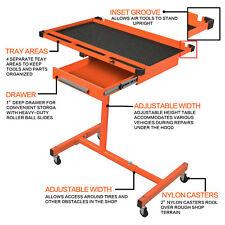 US Heavy Duty Adjustable Work Table Bench,200 lbs Rolling Tool Cart Alike Sunex