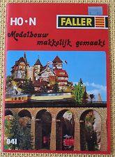 Faller  -- Modellbau Katalog  841  - Sprache Niederländisch !