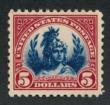 UNITED STATES (US) 573 MINT HINGED VF $5 INDIAN