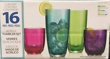 Unbranded Acrylic Glasses & Drinking Glassware