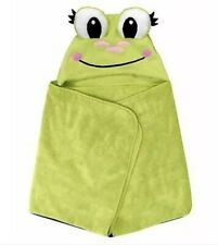 Piper Kids Soft and Absorbent 30 X 40 Inch Hooded Bath Towel - Frog