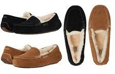 Ugg бренд женские тапочки черный ansley каштан серая замша повседневная обувь