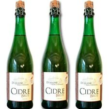 3 flessen rauwe cider