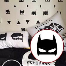 TOP 40Pcs/Set Hero Batman Mask Removable Wall Stickers Kids Children Vinyl Decal