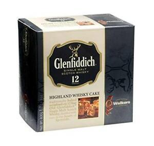 Walkers Shortbread Glenfiddich Highland Malt Scotch Whisky Cake, 14.1 Ounce Box