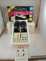 Vintage Tele-Action Mini TV Game 4 Electronic Action Games DMS Untested 1980's