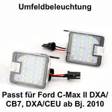 2x TOP LED SMD Umfeldbeleuchtung 6000K Weiß Ford C-Max II DXA/CB7, DXA/CE (7908)