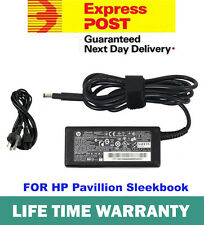 Laptop Adapter Charger For HP Pavillion Sleekbook 14 15 ENVY 4 6 19.5V 3.33A