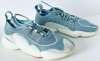 Mens Adidas Crazy BYW II Shoes Blue BD7999 Sz 9 NWT