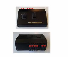 CSW 50928 COMMUTATORE PER ALTOPARLANTE 2-WAY SPEACKER SWITCH BOX