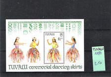 TUVALU (1989) - BLOC OF 1V (**MNH) - COSTUMES / DANSES - Mi BLOC 39