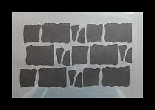 Airbrush Schablone 028 Sandstein groß