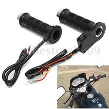 "Motorcycle 7/8"" 22mm Electric Hand Heated Molded Grips ATV Warmers Hot"
