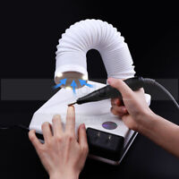 60W Nail Fan Salon Dust Collector Remove UV Gel Manicure Cleaner Strong Suction