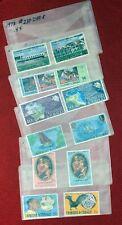 1972-1975 Trinidad & Tobago Collection of 6 mint complete sets