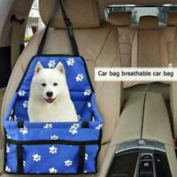 Portable Pet Car Seat Cover Safety Belt Travel Waterproof Carrier Dog Cat Puppy