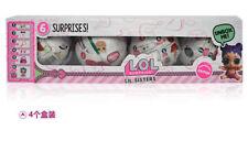 2018 UK 4 PCS 7CM LOL SURPRISE Genuine Confetti Pop Big Sister Doll/Tot Series3