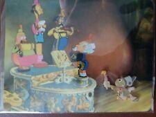 Disney Jiminy Cricket Musical Gathering Limited Edition 1000 Postcard & Pin New