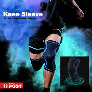 Knee Sleeve Knee Brace Support Compression for Joint Pain Relief Arthritis