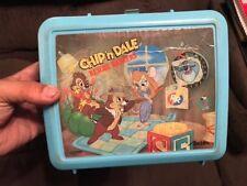 Vintage Disney Chip & Dale Rescue Rangers Aladdin Lunch Box
