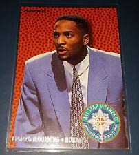 Alonzo Mourning 1994-95 Fleer ALL-STAR WEEKEND Insert Card