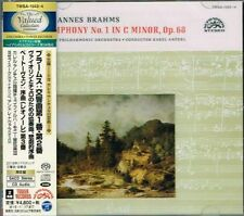Brahms Symphonies No.1 & 2 Karel Ancerl Japan 2 SACD w/OBI NEW/SEALED
