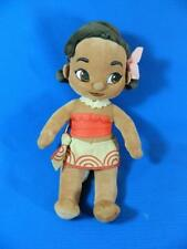 """Disney Store Baby Toddler Moana 12"""" Soft Doll Plush Toy ~ EXCELLENT!"""