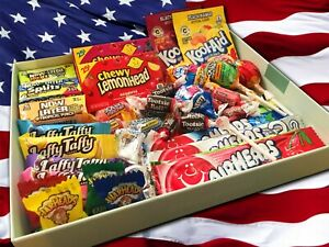 40 American Sweets Pack Assorted! Great Birthday Gift! USA Import