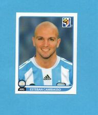 SOUTH/SUD AFRICA 2010-PANINI-Figurina n.114- CAMBIASSO -ARGENTINA-NEW BLACK BACK