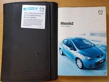 GENUINE MAZDA 2 HANDBOOK OWNERS MANUAL WALLET 2007-2010 PACK H-1023