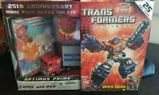 Transformers Universe 25th Anniversary G1 Optimus Prime Set
