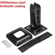 Black Stainless Steel Spigots for Frameless Glass Pool Fence Balustrades Panels
