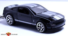 RARE KEY CHAIN 07~14 BLACK & WHITE FORD SHELBY MUSTANG GT500 NEW LIMITED EDITION