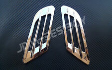 Universal CHROME Style Side Vent Car Fender Grille Air Flow *U.S. FAST SHIPPING*