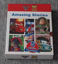 *NEW* Disney Pixar Toy Story Toons / Cars Toon 5 Book set