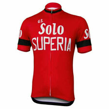Retro Solo Superia  Cycling Jersey mens Cycling Short Sleeve Jersey
