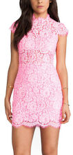 Behula Dolce Via Dress in Bright Neon Pink Size XS